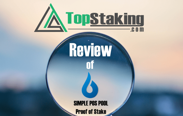 Simple POS Pool Review: Best User interface forStaking