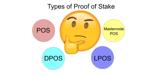 Different Types of Proof of Stake and Staking