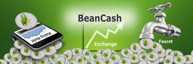 Top Bean Cash (BITB) Faucets, Exchanges, and Staking Wallets