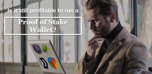 Is it profitable to run a Proof of Stake Wallet?