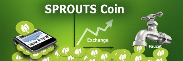 Top Sprouts Coin Faucets, Exchanges, and Staking Wallets Featured image