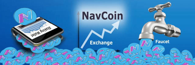 Top NavCoin (NAV) Faucets, Exchanges, and Staking Wallets