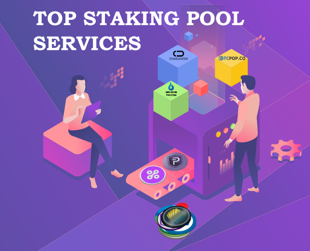 Top Staking Pool Services