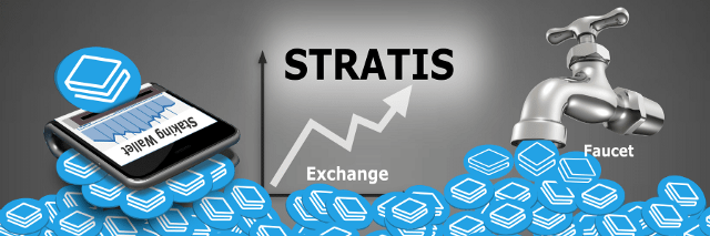 Top Stratis (STRAT) Coin Faucets, Exchanges, and StakingWallets
